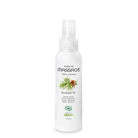 Direct Nature - Huile de Massage Bio - Silhouette - OhSens.fr