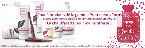 Offre Protecteurs Corps Phyt's